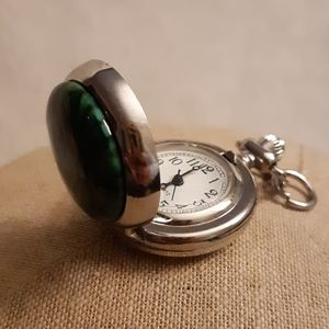 Chlorastrolite Watch Locket